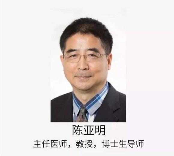 陈亚明教授